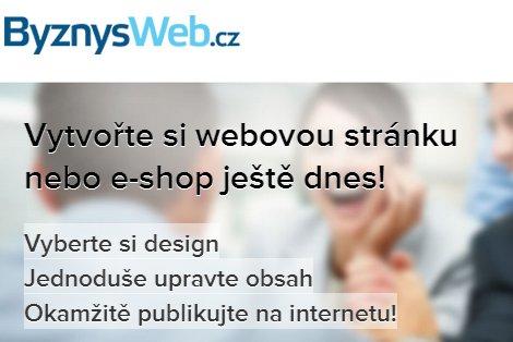 ByznysWeb - správa eshopu a web stránek