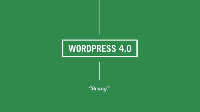 WordPress 4.0 je tady!