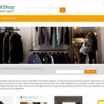 ExitShop - XXLShake orange šablona