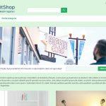 ExitShop - Doublevision green šablona