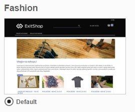 ExitShop Fashion Theme