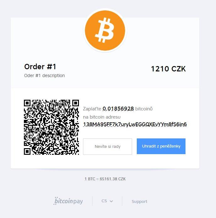 ExitShop a bitcoiny